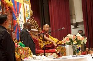 Le Gyalwang Karmapa à New-York